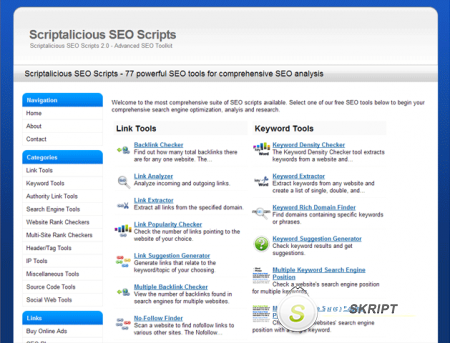 Scriptalicious SEO Scripts Pro 2.0 Nulled
