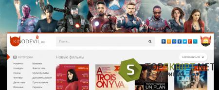 Автонаполняемый сайт кинопортал на Dle 11.1