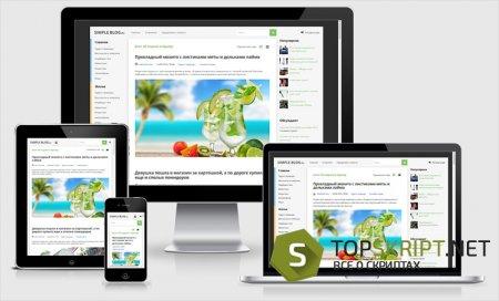 Simple Blog - универсальный шаблон DLE 11.3