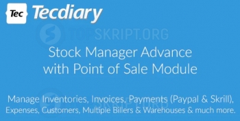 Скрипт для инвентаризации - Stock Manager Advance v3.4.40 NULLED